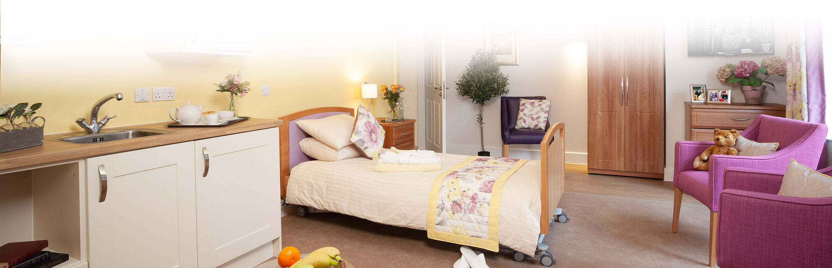 Bedroom at Cedar View Care Centre Croydon