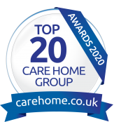 Top 20 Care Home Group Award - logo